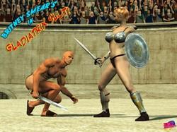 3DAdultcomics - Gladiatrix Slut