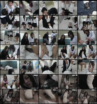 DKM-002 School Girls Tease A Man Asian Femdom