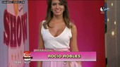 Rocio Robles hot cleavage