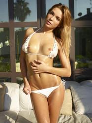 Amber - White Bikini