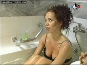 Victoria Onetto slut face in the tub