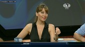 Argentina journalist Julieta hot cleavage