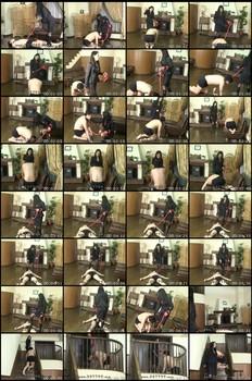 MLDO-036 Miharu Domination Slave Training Cock JAV Femdom